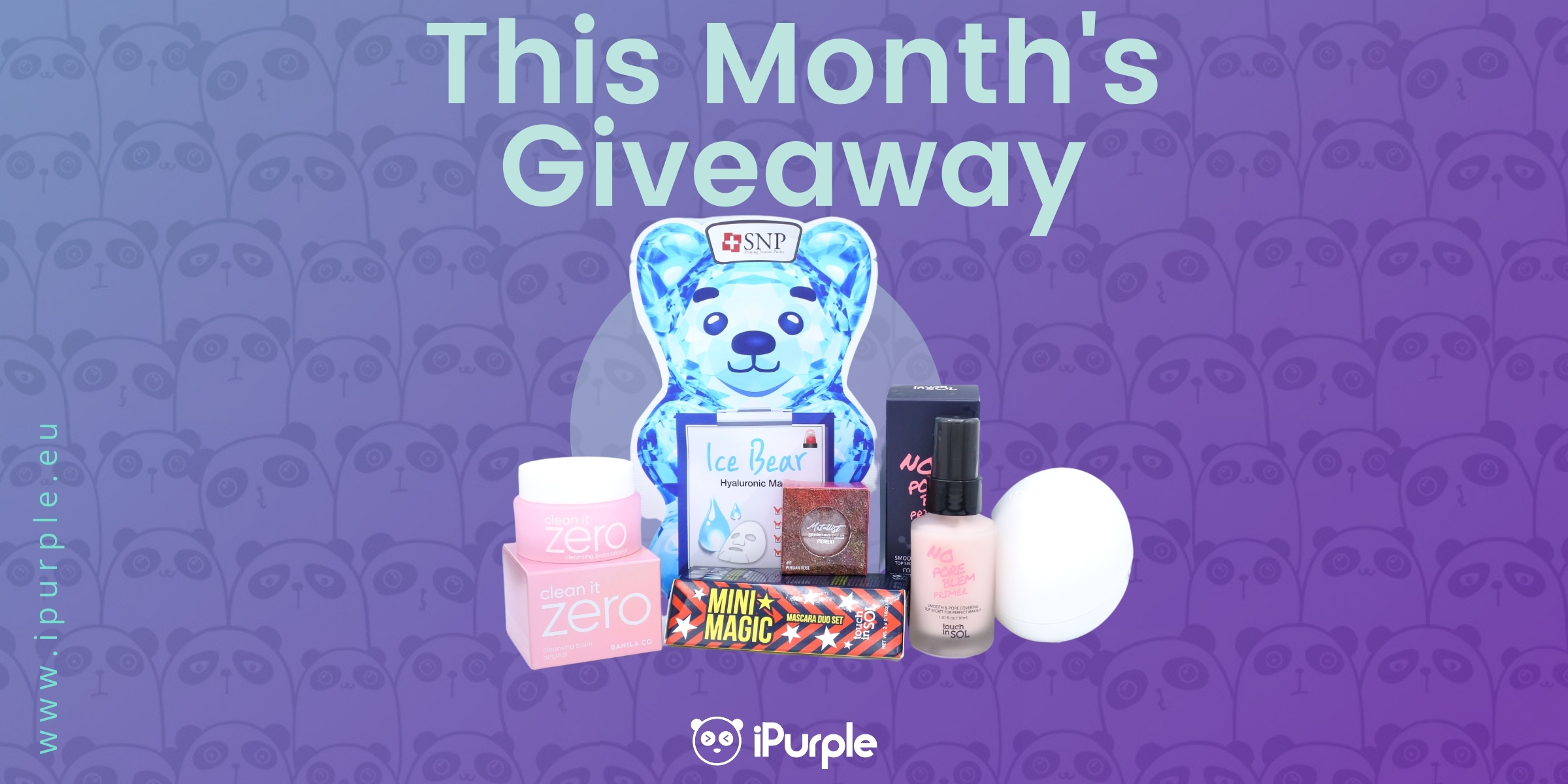 This Month's Giveaway